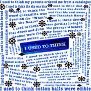 """I Used To Think..."" Childhood Phobias Flashpoint Memory Map"