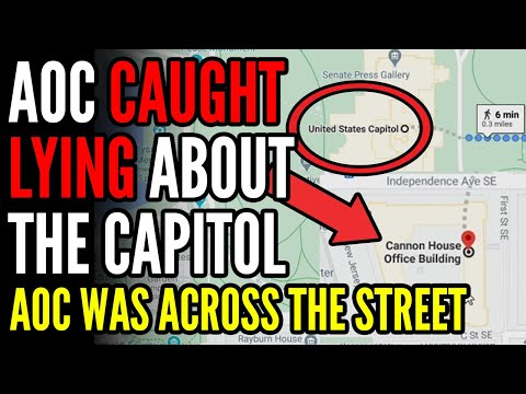 Twitter EXPOSES AOC For LYING About the Capitol Riot, SHE WAS NOT IN THE BUILDING