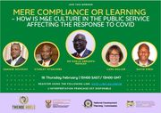 Mere compliance or learning – how is M&E culture in the public service affecting the response to COVID