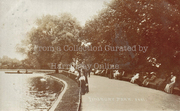 The Lake, Finsbury Park, c1905