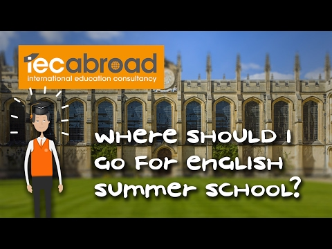 Where should I go for English summer school in the UK?