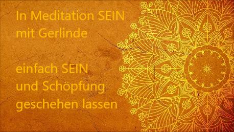 In Meditation SEIN