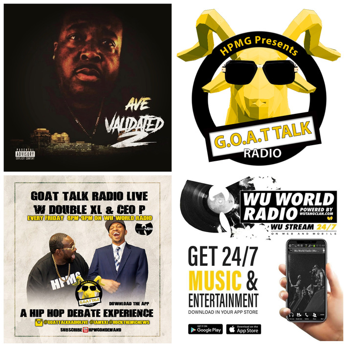 Tune in Tonight @ 8pm  @goatalkradiolive  on @Wuworld! Special Guest  URL's  @sharkcity_ave Talks Top Battle Rappers, Rap Artists and Music !Hosted By @iamxxl and @rockthemicnews! #GOATTALKRADIO #WUWO