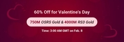 RSorder 60% Off for Valentine's Day