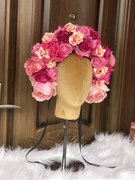 Flamboyant flower crown