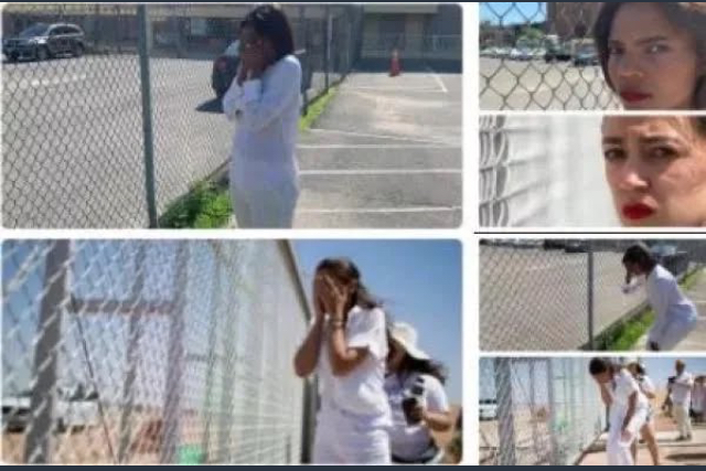Flashback, AOC crying at an empty parking lot. Stupid!