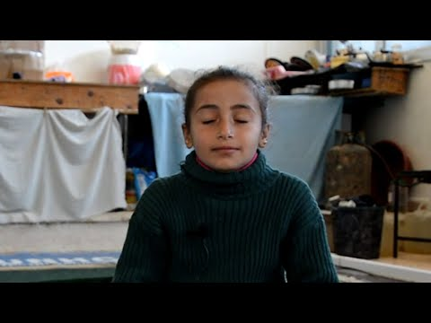 The Syrian 8-year-old practicing mindfulness to relieve anxiety and apprehension