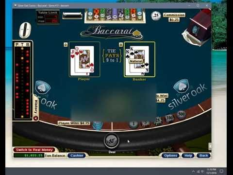 Baccarat online betting game with online fortune telling