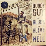 Buddy Guy signed The Blues Is Alive And Well signed LP