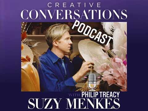 Philip Treacy - Creative Conversations with Suzy Menkes