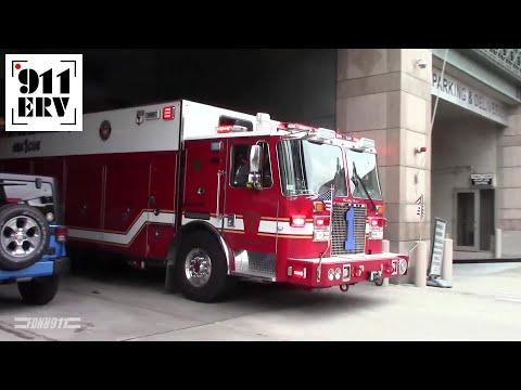 Boston Fire Rescue 1 Responding