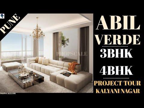 3Bhk,4Bhk, Kalyani Nagar, Ultra-Premium Apartments, ₹5.25 crore onwards, ABIL VERDE. [PROJECT TOUR]