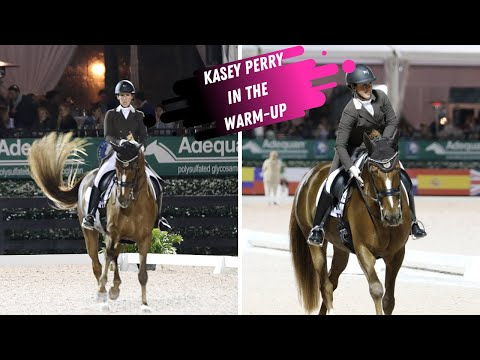 Grand Prix Dressage Warm-Up: Kasey Perry-Glass & Scarlet