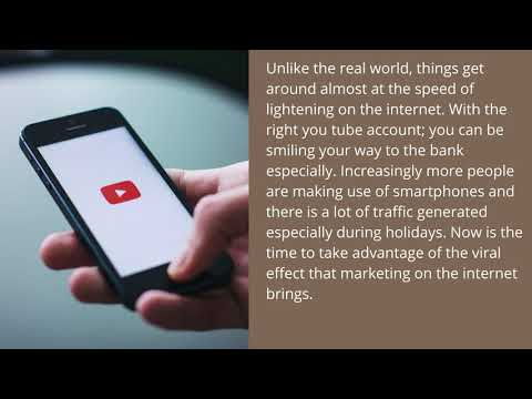 Buy Youtube Accounts And Increase Traffic To Your Site
