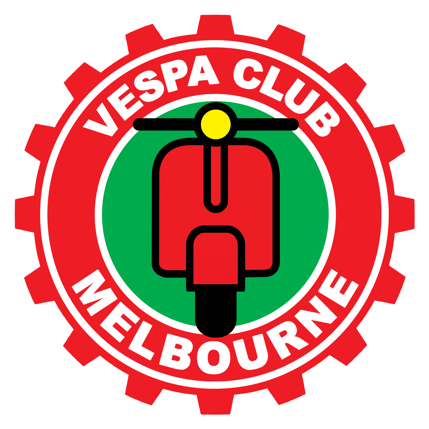 Vespa Club of Melbourne Logo