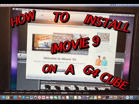 HOW TO INSTALL IMOVIE 9 ON A UNSUPPORTED G4 G5 POWER PC MAC