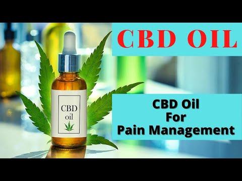 CBD Oil - Using CBD Oil for Pain Management - Does It Work?