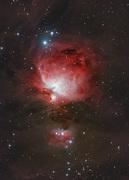 M42 Orionnebulosan HaRGB