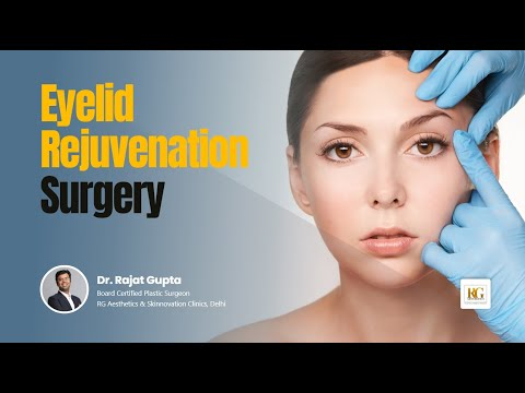 Eyelid Rejuvenation Surgery |  Blepharoplasty | Lower eyelid lift | Dr Rajat Gupta | RG Aesthetics