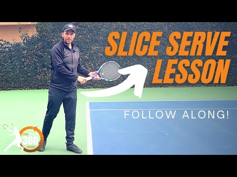Slice Serve Technique | Use This Simple, Step by Step Process for a Nasty Slice Serve