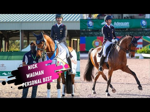 Nick Wagman & Don John Grand Prix Dressage Personal Best 73.8%