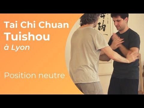 Tai Chi Lyon - Tui Shou 3 position neutre
