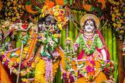 Pushya Purnima Darshan at ISKCON Mayapur on 21 Jan 2019