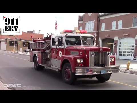 Worcester, MA Engine 27 Responding