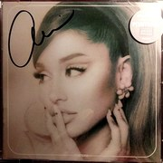 Ariana Grande signed Positions CD