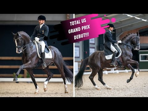 Edward Gal & Total US (Totilas) Grand Prix Debut - 80.7%