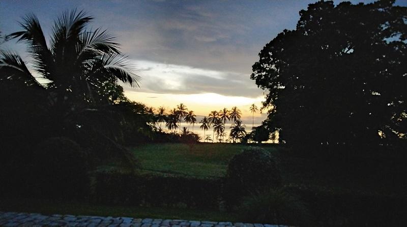 Rincon lever de soleil sur le golfe d'Osa