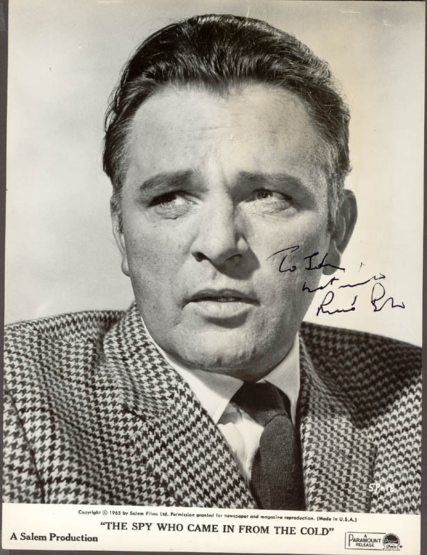 Richard Burton in The Spy Who Came in from the Cold