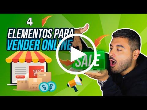 4 Elementos Para Vender Online