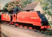 Duke Of Edinburgh locomotive at the RHDR