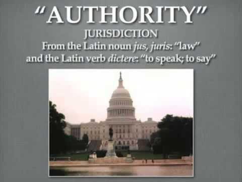 Mark Passio - Government & Jurisdiction