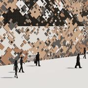 Pixel Pattern Facade