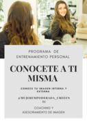 Programa de Entrenamiento Personal - CONOCETE A TI MISMA