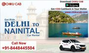 Hire Delhi to Nainital Taxi Service from Chiku Cab