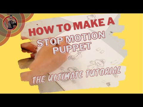 How to make a Stop Motion Puppet   The Ultimate Tutorial   Chapter #1