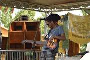 Kingfa pon di bass at Roots Corner Stage