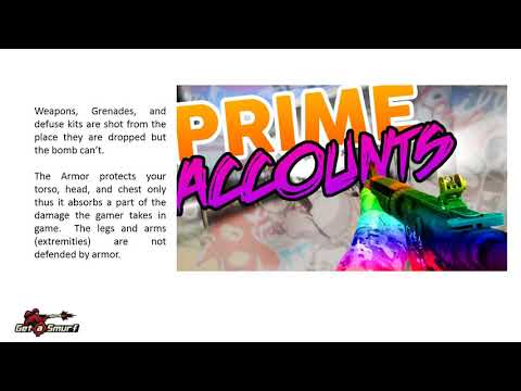 Buy CSGO Prime Accounts at cheapest prices with GetaSmurf