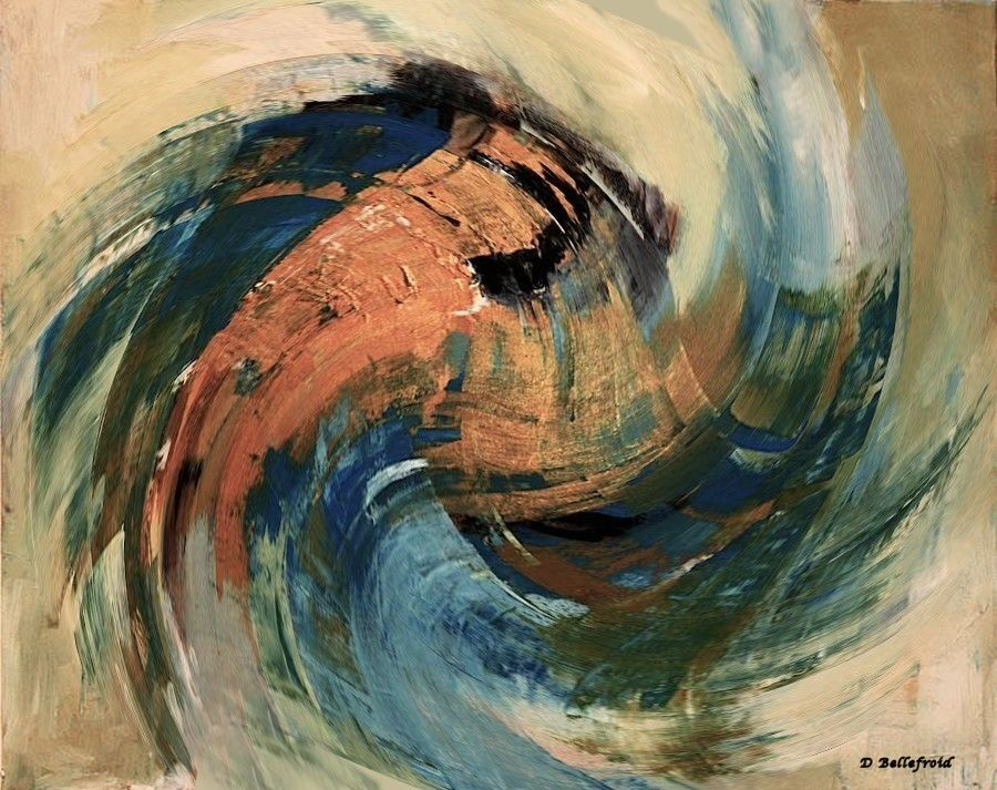Peintures abstraites  1