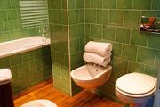 salle de bain in the Targa Florio room