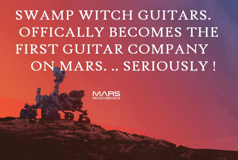 SWAMP WITCH GUITARS ON MARS