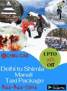 Book Delhi Shimla Manali Taxi Package From Chiku cab