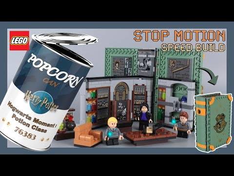 【Stop Motion】LEGO Harry Potter Hogwarts Moment : Potions Class 76383 Speed Build Review