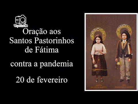 Oração aos Santos Pastorinhos de Fátima conta a pandemia