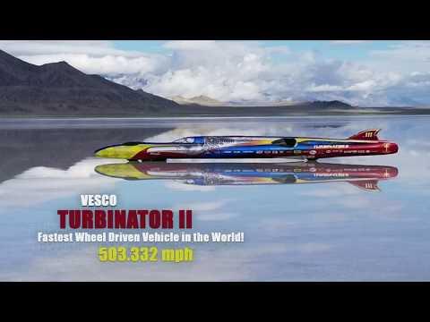 Vesco Turbinator II 503 mph Run
