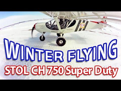 Winter flight in the STOL CH 750 Super Duty