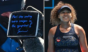 Naomi Osaka Shares 'Disturbing' Story Behind Message for Her Sister She Wrote on Camera After Winning Australian Open Semi-final